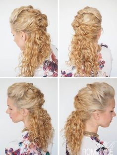 30 Curly Hairstyles in 30 days – Day 7