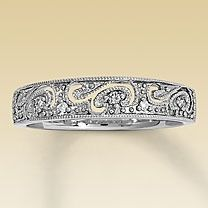 Perhaps something like this for my wedding band - to help bring in some yellow gold due to the India traditions. And, it looks similar to some of the designs Ancil likes for his band. Bling Bling, Jewelry Box, Jewelry Accessories, Chanel Jewelry, Fall Jewelry, Summer Jewelry, Jewelry Trends, Jewelry Crafts, Mrs Always Right
