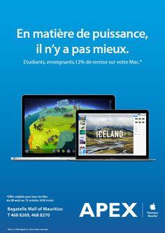 APEX Apple Premium Reseller - Back To School Promo. Tél: 468 8269 / 468 8270