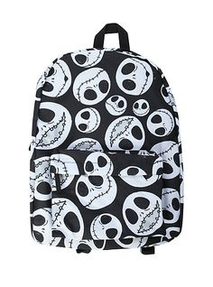 The Nightmare Before Christmas Jack Heads Backpack | Hot Topic