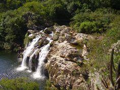 Cachoeira do Filó - em Furnas, MG.