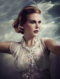 Nicole Kidman.  Won the Academy Award for The Hours.  My favorite movies: The Hours, The Others, Cold Mountain and The Interpreter.