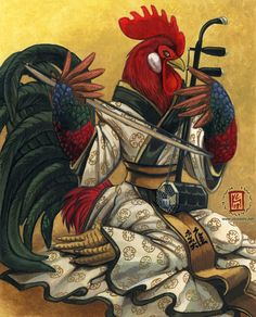 Year of the Rooster by KaceyM.deviantart.com on @DeviantArt