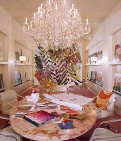 Kelly Wearstler's office space.