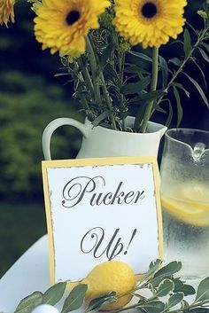 Wedding shower idea