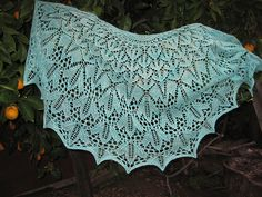 Ravelry: Project Gallery for Vermont Shawl pattern by Hanna Breetz
