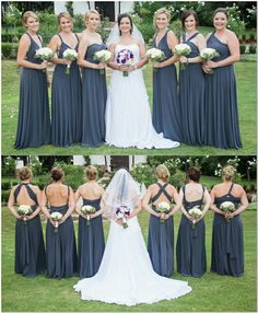 Infinity dresses for my bridesmaids