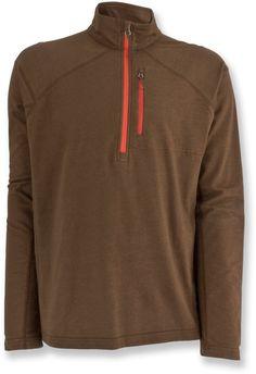 White Sierra Male Mountain Comfort Quarter-Zip Fleece Pullover - Men's