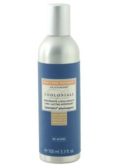 I Coloniali Long-lasting Deodorant Spray For Men A longlasting alcoholfree deodorant which effectively regulates perspiration without blocking it Please note that this item, cannot be sent overseas. http://www.MightGet.com/january-2017-11/i-coloniali-long-lasting-deodorant-spray-for-men.asp