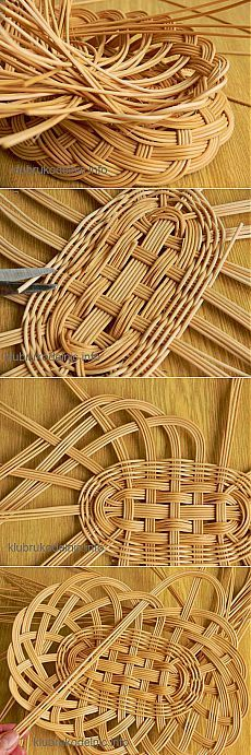 To make it from waste electric wires Paper Weaving, Weaving Art, Loom Weaving, Newspaper Basket, Newspaper Crafts, Basket Weaving Patterns, Willow Weaving, Art N Craft, Weaving Techniques
