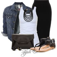 A fashion look from September 2013 featuring Tusnelda Bloch tops, G by Guess sandals and Givenchy clutches. Browse and shop related looks.