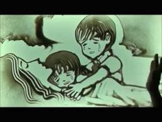 Sand art The Little Child (Vietnam_heart touching story that will make you cry) Sand Painting, Sand Art, Light Painting, Heart Touching Story, Touching Stories, Stories That Will Make You Cry, You Raise Me Up, Little Children, Silhouette
