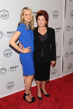 Kate Mulgrew Photos - Taylor Schilling and Kate Mulgrew (R) attend 'Orange Is the New Black' during 2013 PaleyFest: Made In New York at The Paley Center for Media on October 2, 2013 in New York City. - 'Orange Is the New Black' Cast at PaleyFest