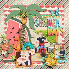 Layout: Summer Days