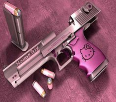 For the ladies: Hello Kitty Handgun! | Laugh or GTFO