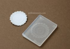 Doily Mold - Silicone Lace Mold-doily mold, silicone lace mold