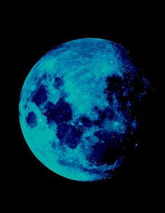 """Today {31/8} is the last Blue Moon until 2015. The term """"blue moon"""" refers to the 2nd full moon in one month ~ a rare event."""