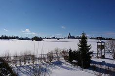 Traumhafte #Winter Landschaft in #München Süd