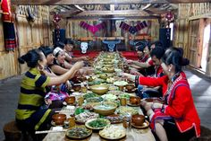 Travel and try: the Wa ethnic banquet, #Ximeng #Puer #Yunnan