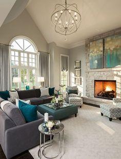 Family living room design | interior design, home decor, design, decor. More ideas at www.bocadolobo.co...