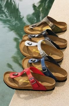 Birkenstocks are back says Nordstrom. They never went away, says me!