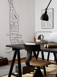 Hitta hem: Det grafiska kontoret