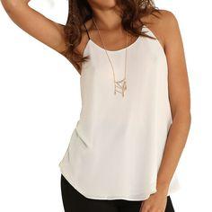 2015 hot sale European American women fashion sexy white short camis shirts 6271