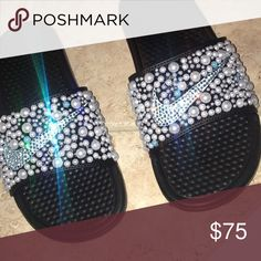 nike slides customize all sizes and colors Nike Other