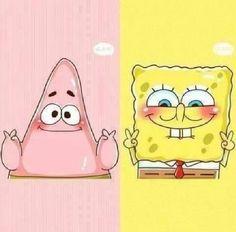 patrick star and spongebob Wie Zeichnet Man Spongebob, Spongebob Patrick, Spongebob Tattoo, Spongebob Drawings, Disney Wallpaper, Iphone Wallpaper, Best Friend Wallpaper, Tumblr Backgrounds, Tumblr Stickers