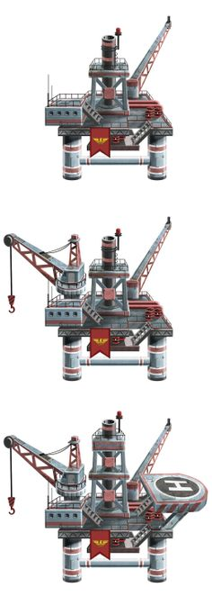 oil platform by TugoDoomER