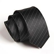 Men Party/Work/Casual Neck Tie , Polyester – USD $ 5.39