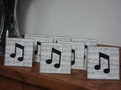 Just a Note 3 x 3 Cards by BitsNPiecesGifts on Etsy, $4.00