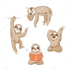 Sloths #shutterstock