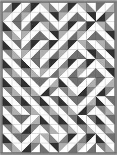 HST quilt layouts