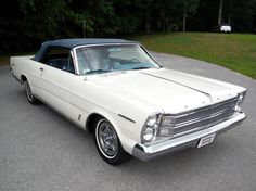 1966 Ford Galaxie 500XL Convertible ---- Looks just like dad's only a convertible! Same color and everything.