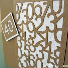 Age is just a Number Card – Free File Friday.