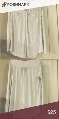 New Black & White Top Black and White Long Sleeve Top Tops Blouses