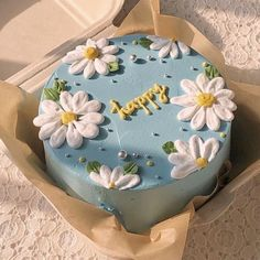 Pretty Birthday Cakes, Pretty Cakes, Beautiful Cakes, Amazing Cakes, Colorful Birthday Cake, Birthday Cakes For Teens, Teen Birthday, Happy Birthday Cakes, Mini Cakes