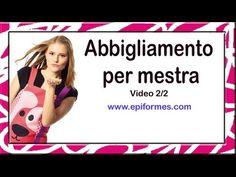 Abbigliamento per mestra,Grembiuli Scuola , per l`Italia dalla Spagna, Anno 2013-2014 Video 2/2