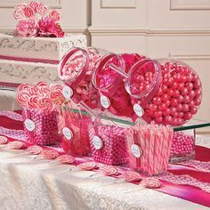 Never again will you have to shop around to create a candy buffet with all the classic candy you know and love. This bulk candy assortment has all you need to . Wedding Buffet Food, Wedding Catering, Food Buffet, Buffet Ideas, Bar Ideas, Wedding Table, Pink Birthday, 21st Birthday, Birthday Parties