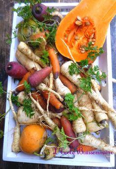 L'Ecole Buissonnière: Curry de légumes racine