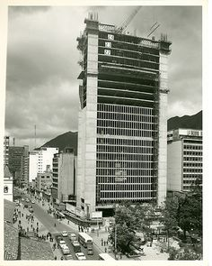 BOGOTÁ Edificio Avianca en construccion Skyscraper, Multi Story Building, City, Orcas, Carrera, Tech, Countries Of The World, Skyscrapers, Bogota Colombia