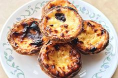 The best Portuguese custard tarts in Toronto are composed of crisp and flaky pastry crust containing a rich filling of egg yolk, sugar and cream wi. Custard Tart, Deli, Portuguese, Crisp, Muffin, Goodies, Good Things, Breakfast, Muffins