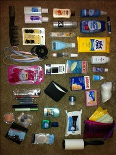 Wedding Emergency Kit- as an event planner, I have on hand an extensive kit with anything and everything you may need.