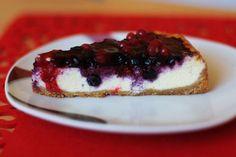 Krémový vanilkový čízkejk s lesným ovocím - Powered by @ultimaterecipe
