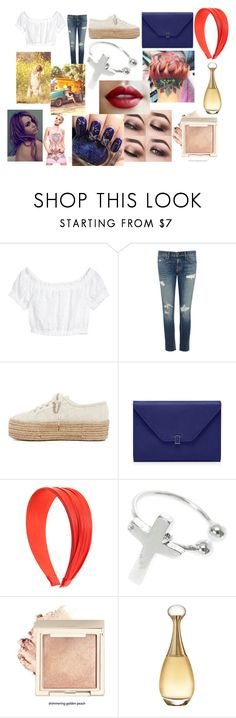 """""""Day with Miley"""" by larryandtarillforeverr14 ❤ liked on Polyvore featuring rag & bone/JEAN, Superga, Christian Dior and Cyrus"""