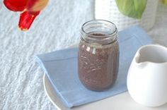 Blueberry Smoothing with Walnuts, Ginger, and Cinnamon