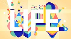 LIFE by Sebas and Clim. We launched Life to celebrate our first studio anniversary. Something to have fun with and to explore a new style in design, edition and animation.