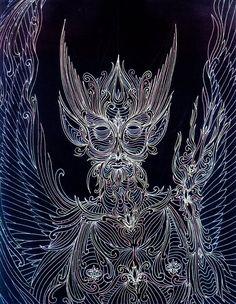 The Angel through the Veil by Lakandiwa on DeviantArt