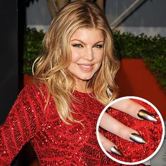 Fergie #beauty #nails